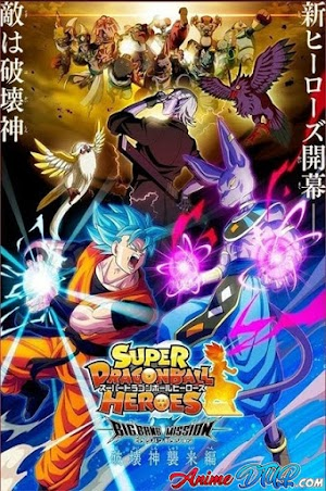 Super Dragon Ball Heroes - Big Bang Mission [01/??] [Sub Español] [WEB-DL 1080p]