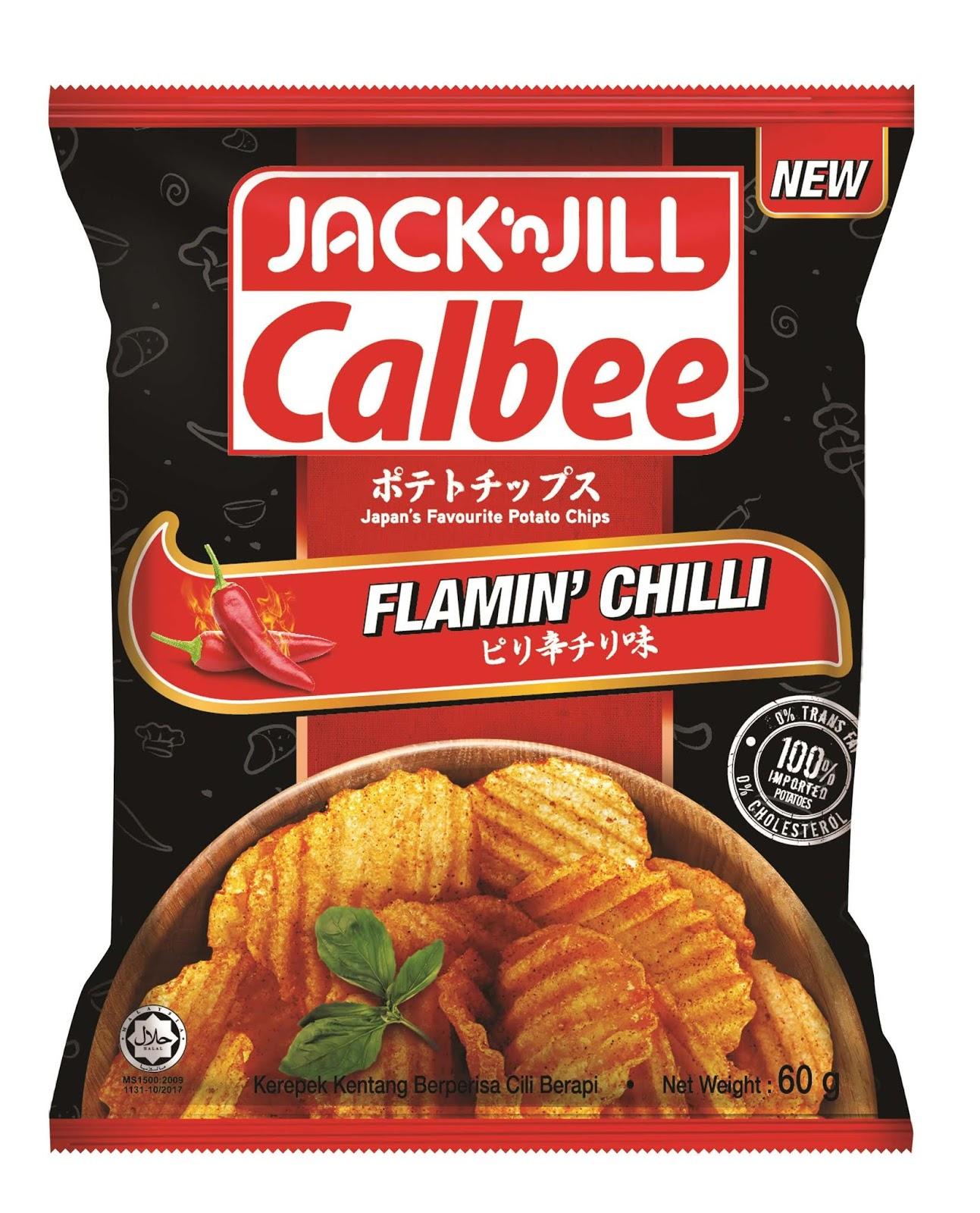 Snek Terbaru JACK 'N JILL CALBEE