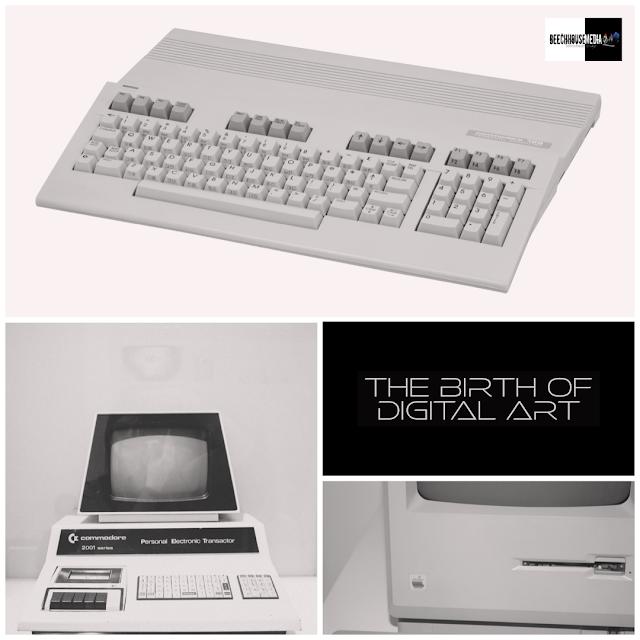 retro computers, digital art, 8bit, computer art, mark taylor,