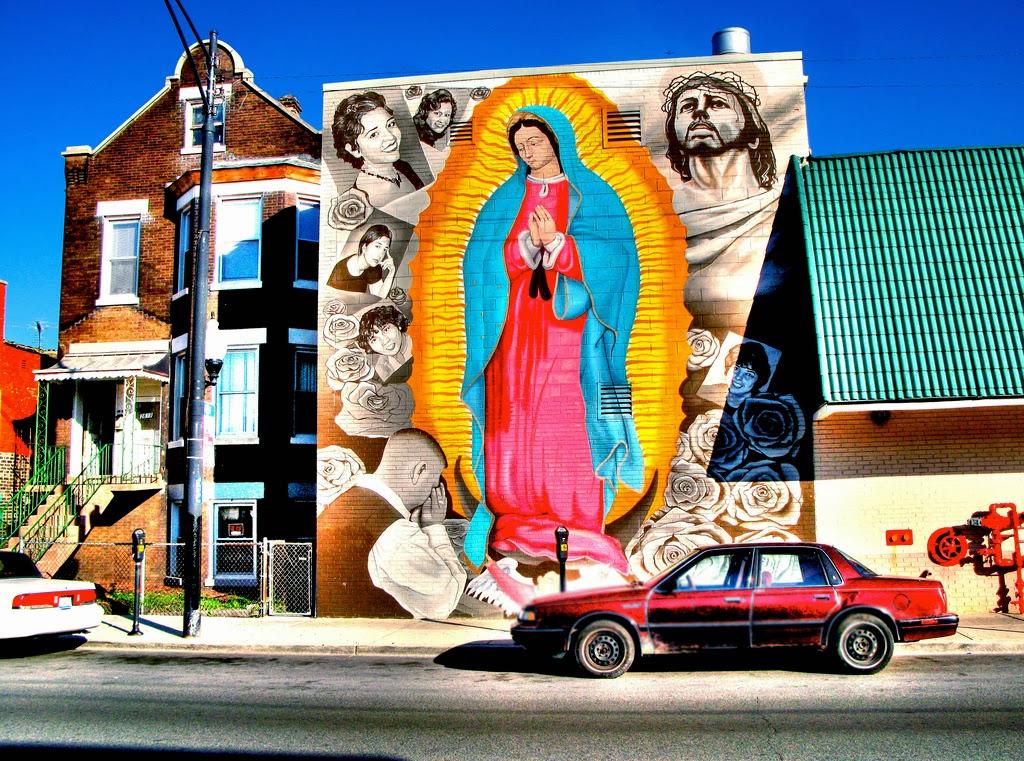 La Virgen De Guadalupe Y Juan Diego >> El Blog de Marcelo: Murales de la Virgen de Guadalupe: María más allá del templo