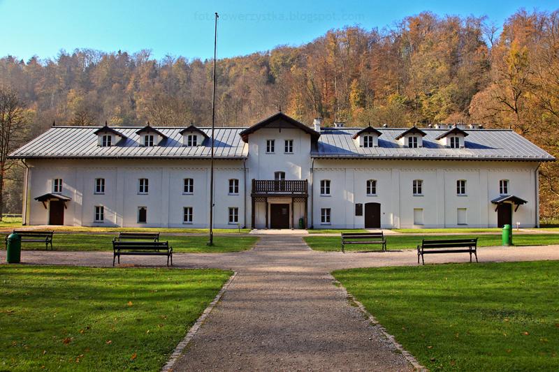 Ojców, Ojcowski Park Narodowy, małopolskie, Dolina Prądnika, Dom pod Łokietkiem