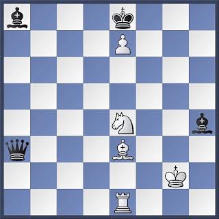 Proceso de composición de problemas de ajedrez, diagrama 6