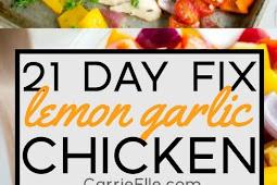 21 DAY FIX LEMON GARLIC CHICKEN SHEET PAN DINNER