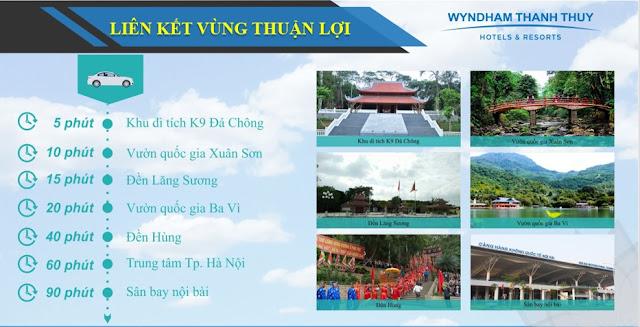 Vị trí Condotel Wyndham Thanh Thủy