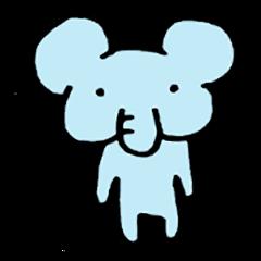 Japanese pretty elephant
