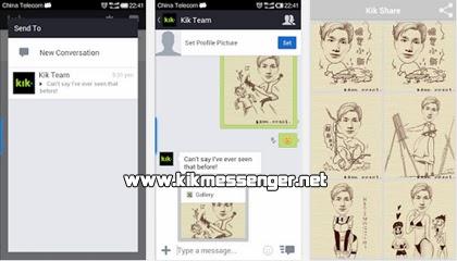 Convierte tus fotos a caricaturas con MomentCam Share For Kik