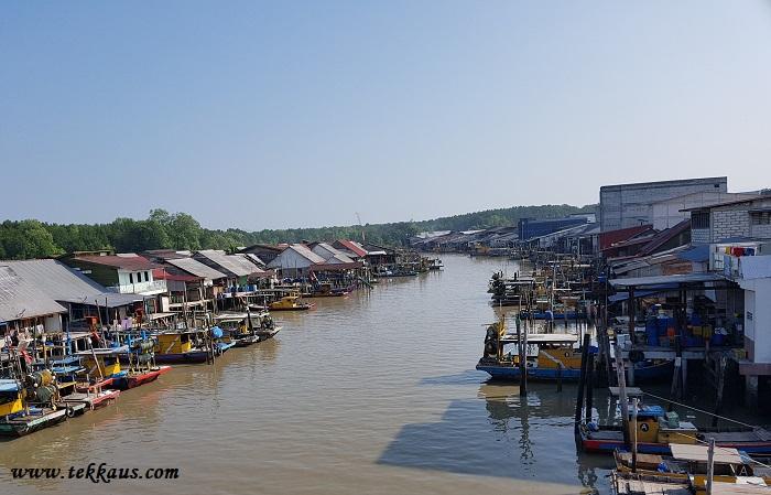 Port Weld-Kampung Kuala Sepetang Fishing Village In Taiping