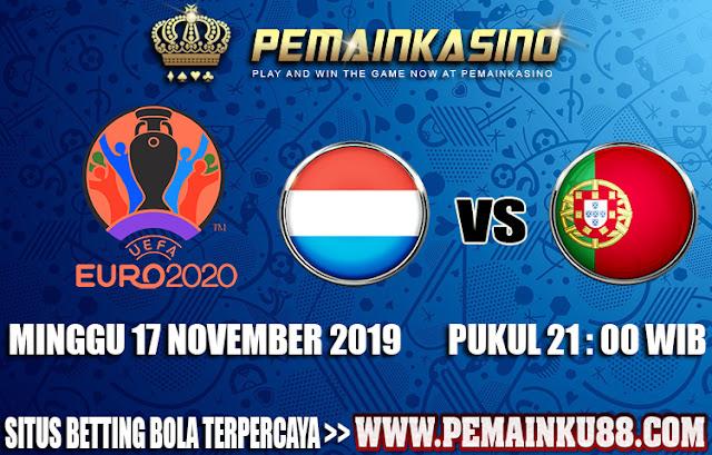 Prediksi Duel Luksemburg VS Portugal Malam Ini