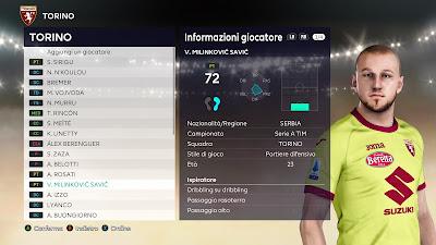 PES 2021 Faces Vanja Milinković Savić