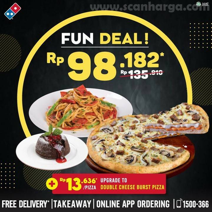 Promo Dominos Pizza November 2020 Scanharga