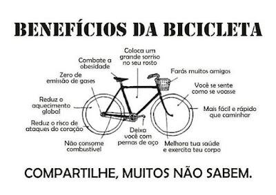 A bicicleta também é um ótimo meio para fazer novas amizades, conhecer novas pessoas, se socializar um pouco, fazer passeios em grupo, trocar experiências, aumentar suas ligações e conexões com boas e maravilhosas pessoas.