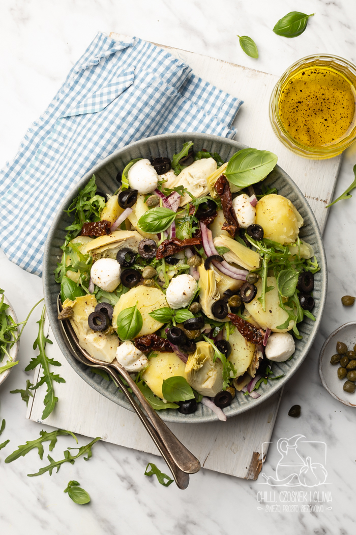 Włoska sałatka ziemniaczana