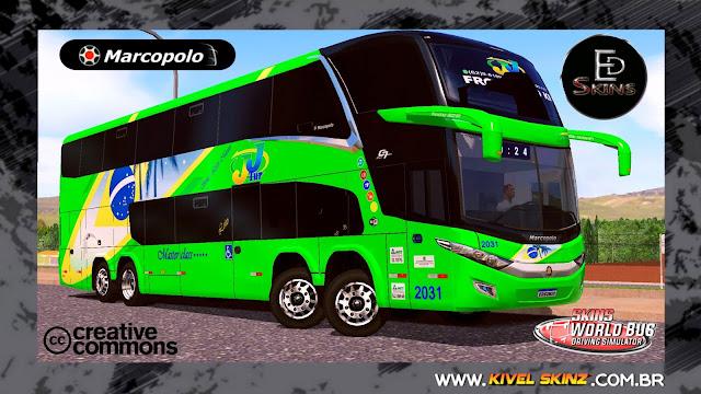 PARADISO G7 1800 DD 8X2 - VIAÇÃO JJTUR GREEN