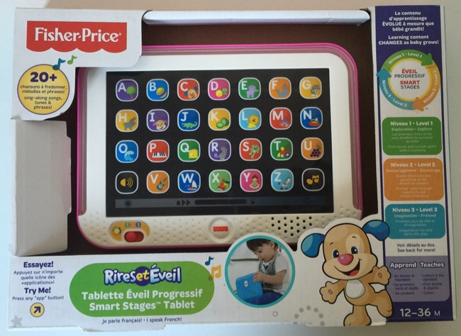 Tablet Divertido Aprender & Brincar de Fisher-Price