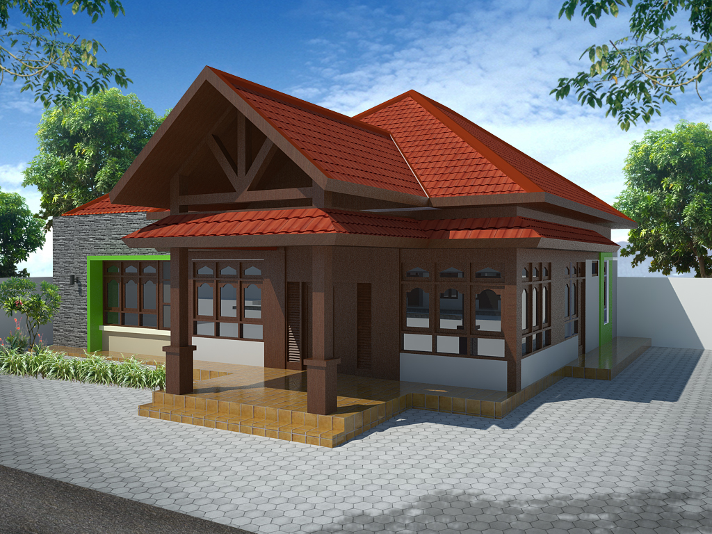 25 Desain Rumah Minimalis Gaya Jawa Modern Rumahku Unik