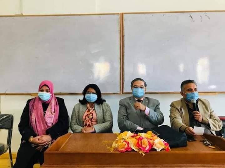 إعلام السويس ينظم ندوة تثقيفية حول فيروس كورونا الوقاية والعلاج