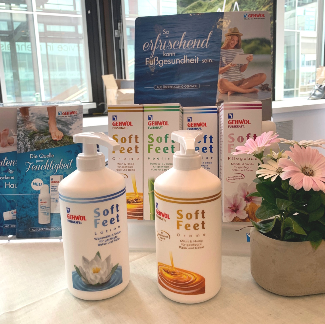 beautypress Blogger Event Mai 2019 Frankfurt Eventbericht - gehwol Soft Feet