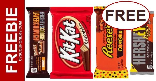 FREE Hershey Bars at CVS