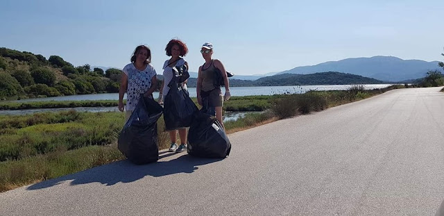 Θεσπρωτία: Ομάδα εθελοντών/τριών καθάρισε επί τέσσερις ώρες την παραλία Δρεπάνου