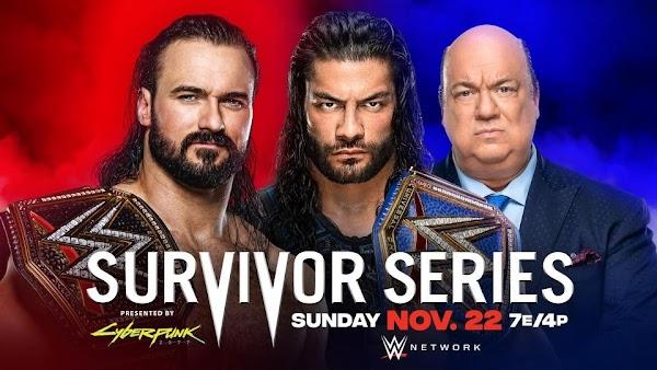 Wwe En Vivo Survivor Series 2020 En Español - English
