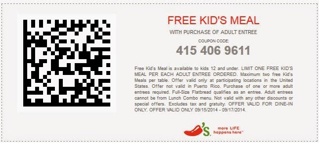 photo relating to Chilis Coupons Printable named Print Discount codes 2014