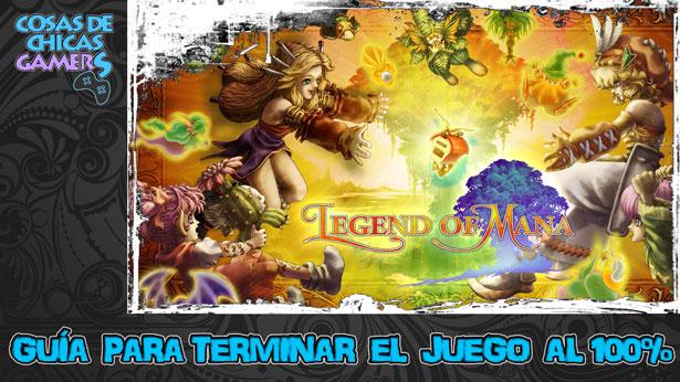 Guía Legend of Mana Remastered para completar el juego al 100%