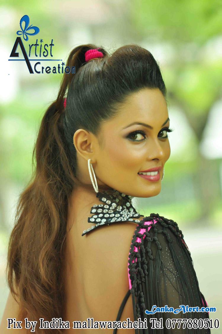 Sri Lankan   Deveni Inima Actress and Model Shalini Fernando Cool Photos Collection   CeylonFace