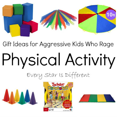 Physical activity gift ideas for kids.