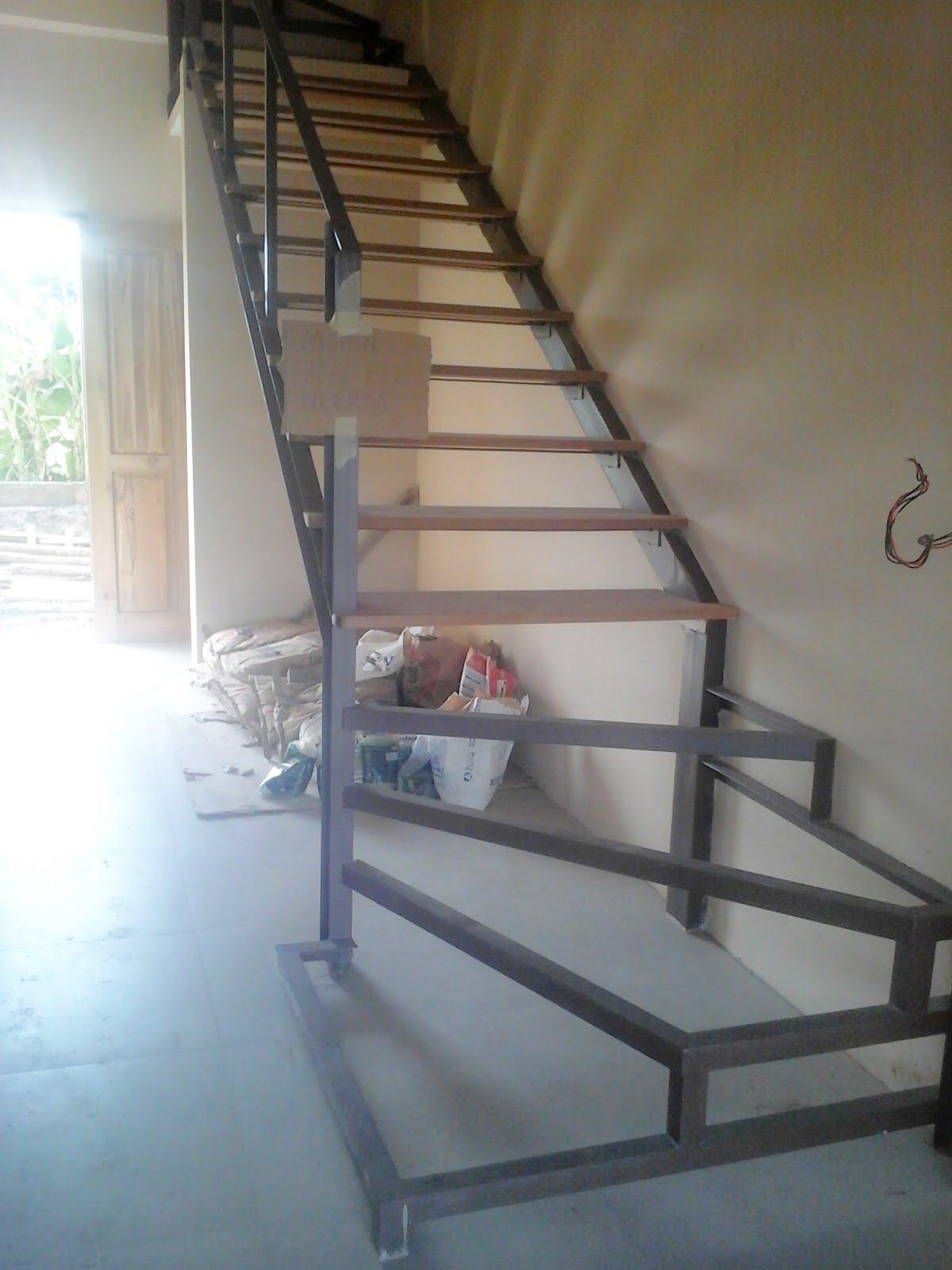 Proyek Tangga dan Pagar BRC di Old Canggu Inn