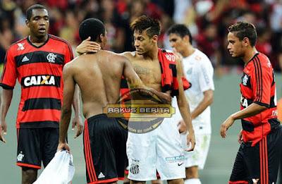 Di Saat Santos Bertemu Dengan Flamengo