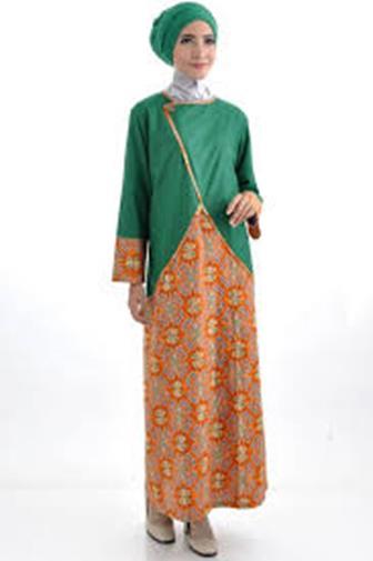 Contoh Model Baju Batik Kombinasi Terkini