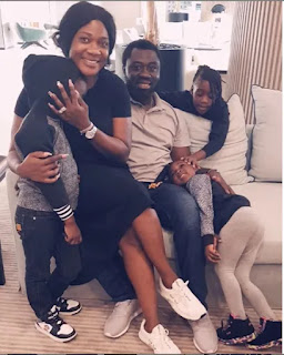Mercy Johnson Shares Beautiful Photo of Her Family