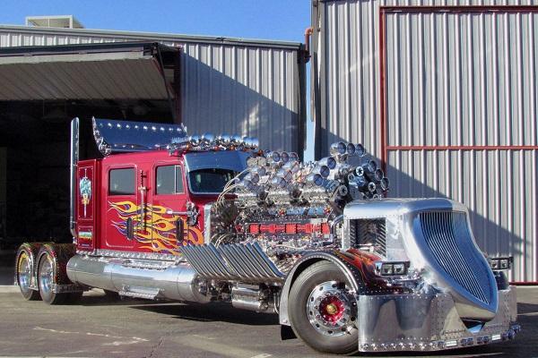 Thor 24 el camión más potente del mundo