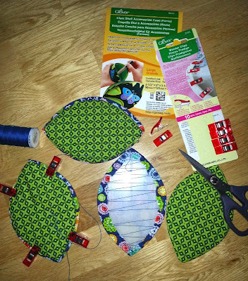 clover clam shell etui en wonder clips