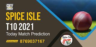 Ginger Generals vs Nutmeg Warriors 22 Match Spice Isle T10 100% Sure Match Prediction