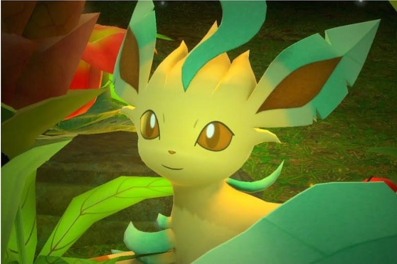 New Pokémon Snap - Leafeon