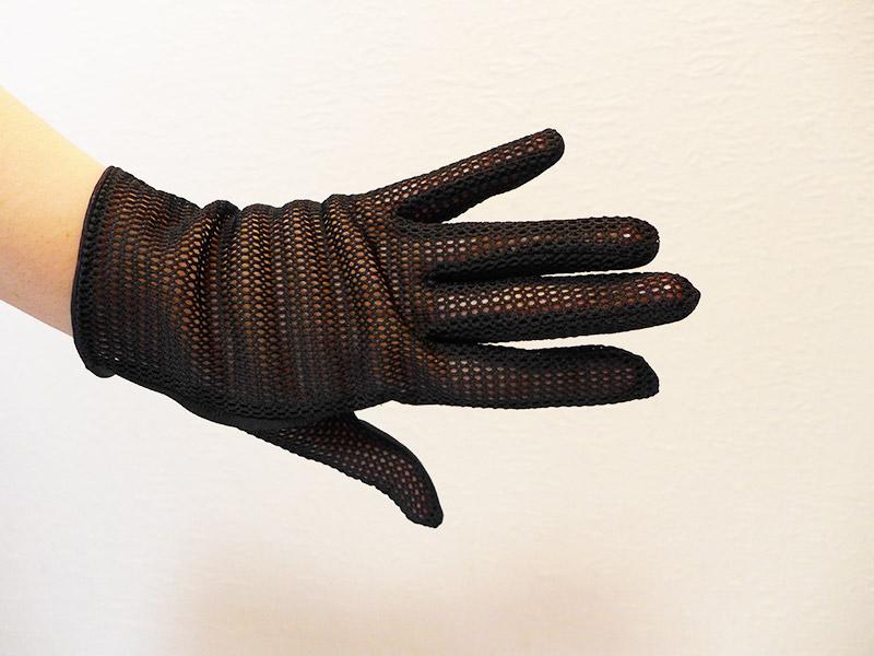 Les gants au crochet des années 50