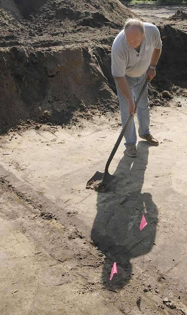 15 graves in Brunswick colonial-era cemetery unearthed
