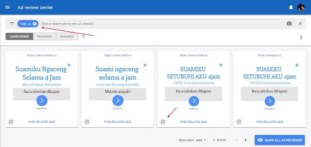 Cara Blokir Iklan Dewasa di Google AdSense
