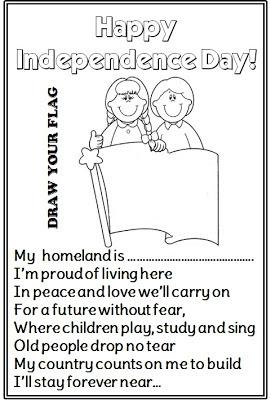 Enjoy Teaching English: INDEPENDENCE DAY (poems + writing)