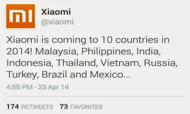 Xiaomi Smartphones To Arrive in the Philippines Soon