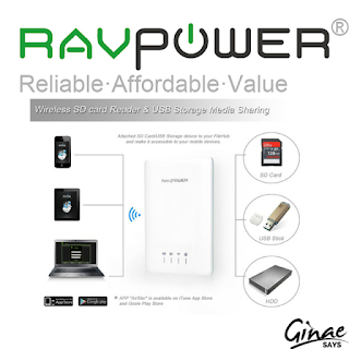 Prodct Review: RAVpower RP-WD01 Wireless Filehub / Media Drive