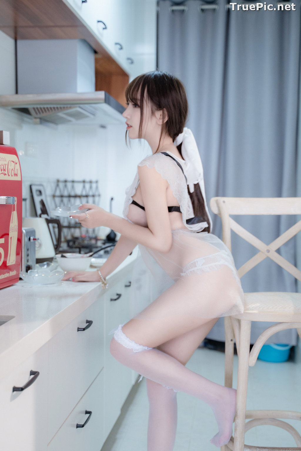 Image Chinese Model – 过期米线线喵 (米線線sama) – Sexy Housewife - TruePic.net - Picture-27