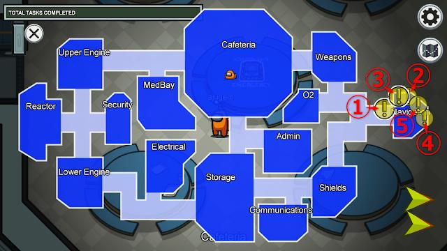 Navigation(ナビゲーション)のタスクマップ説明画像