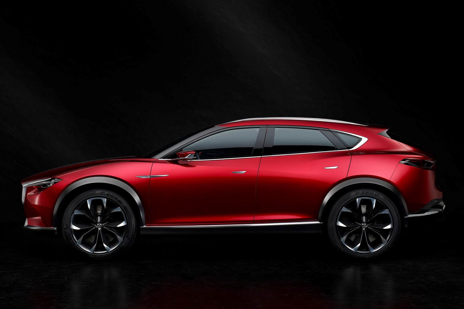 Mazda Cx 6 >> Mazda Koeru Concept Previews Upcoming CX-7 SUV | Carscoops