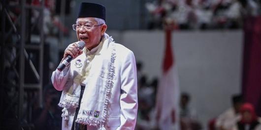Kisah Ma'ruf Amin Bantu Orang Itali Bikin Film Tentang Islam Nusantara