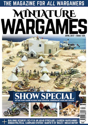 Miniature Wargames 408, April 2017