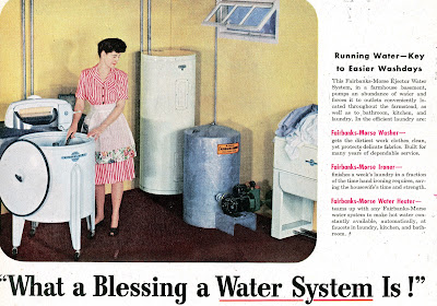 What a blessing a water system is