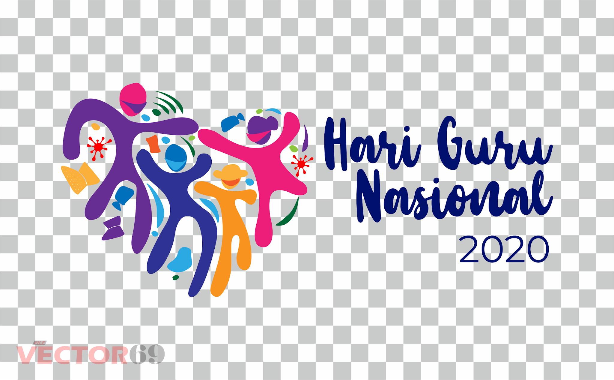 Hari Guru Nasional (HGN) 2020 Kemdikbud Logo - Download Vector File PNG (Portable Network Graphics)