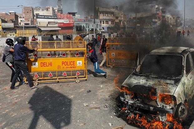 Kerusuhan di India, Masjid Dibakar dan Wartawan yang Meliput Diserang